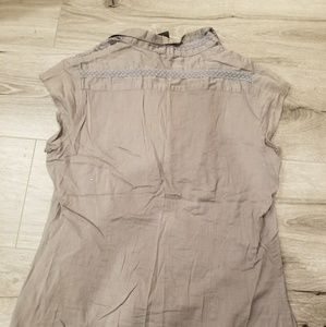 Love Squared Tops - Gray blouse